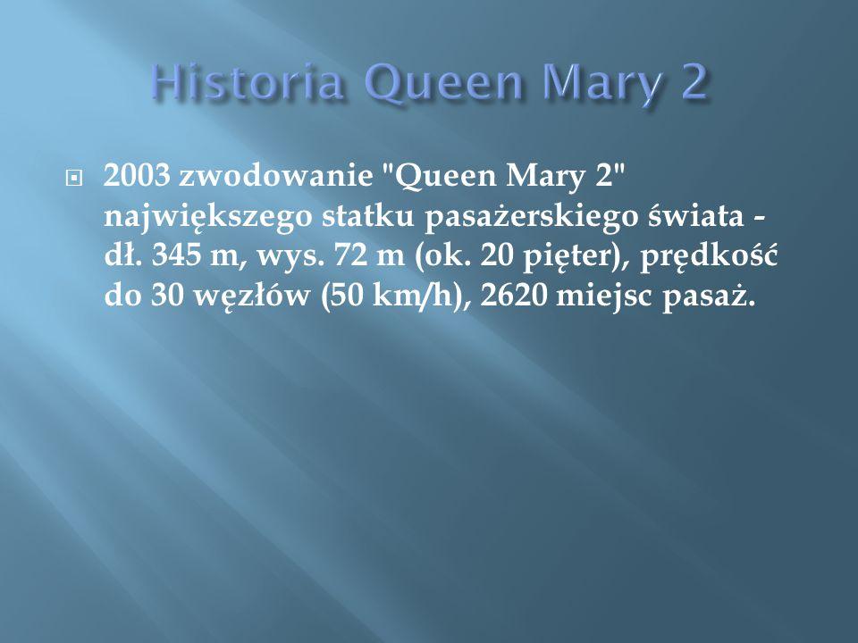 Historia Queen Mary 2