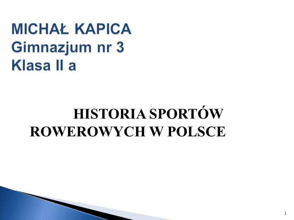 MICHAŁ KAPICA Gimnazjum nr 3 Klasa II a
