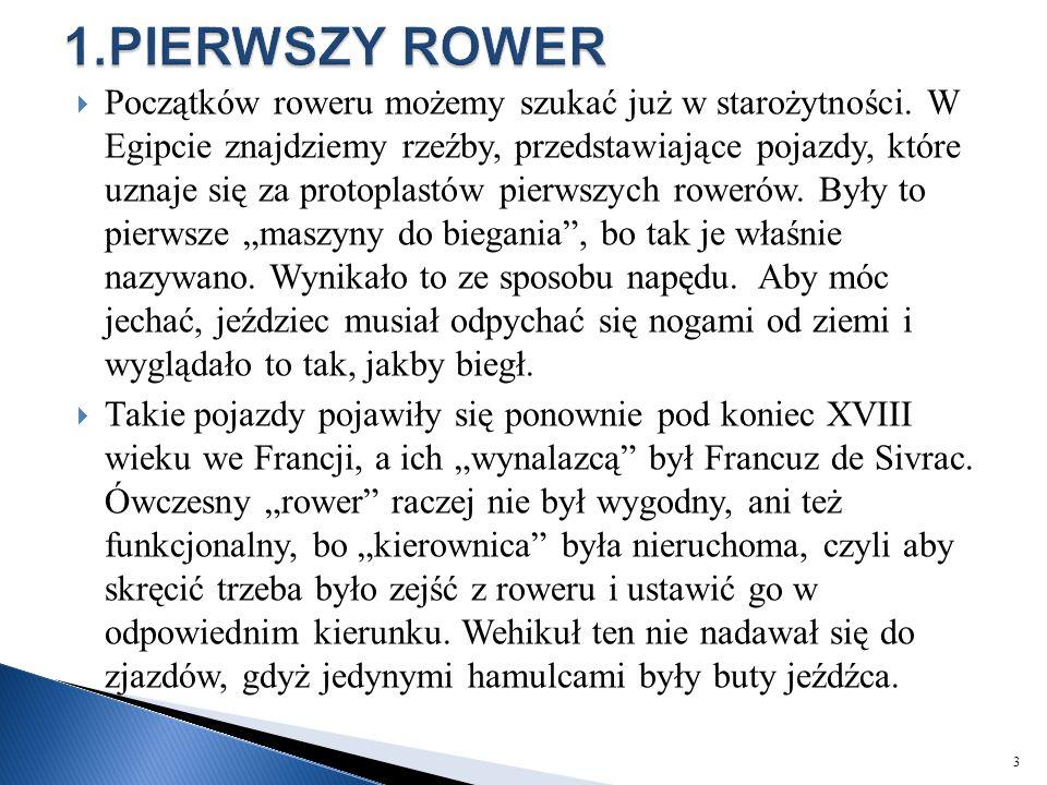 1.PIERWSZY ROWER