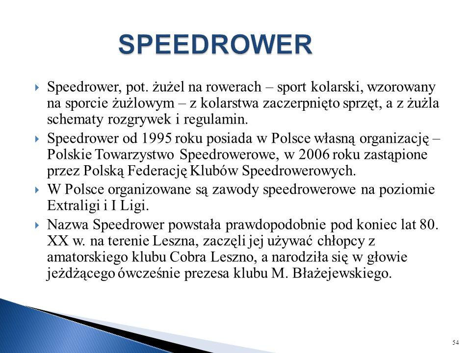 SPEEDROWER
