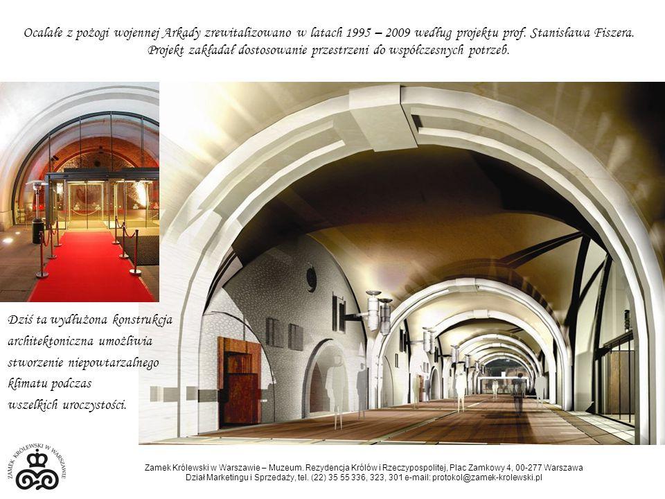 Ocalałe z pożogi wojennej Arkady zrewitalizowano w latach 1995 – 2009 według projektu prof. Stanisława Fiszera. Projekt zakładał dostosowanie przestrzeni do współczesnych potrzeb.