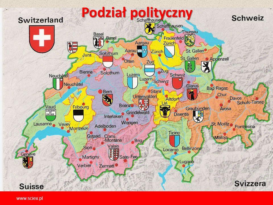 Podział polityczny www.sciex.pl