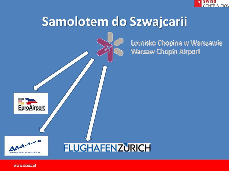 Samolotem do Szwajcarii