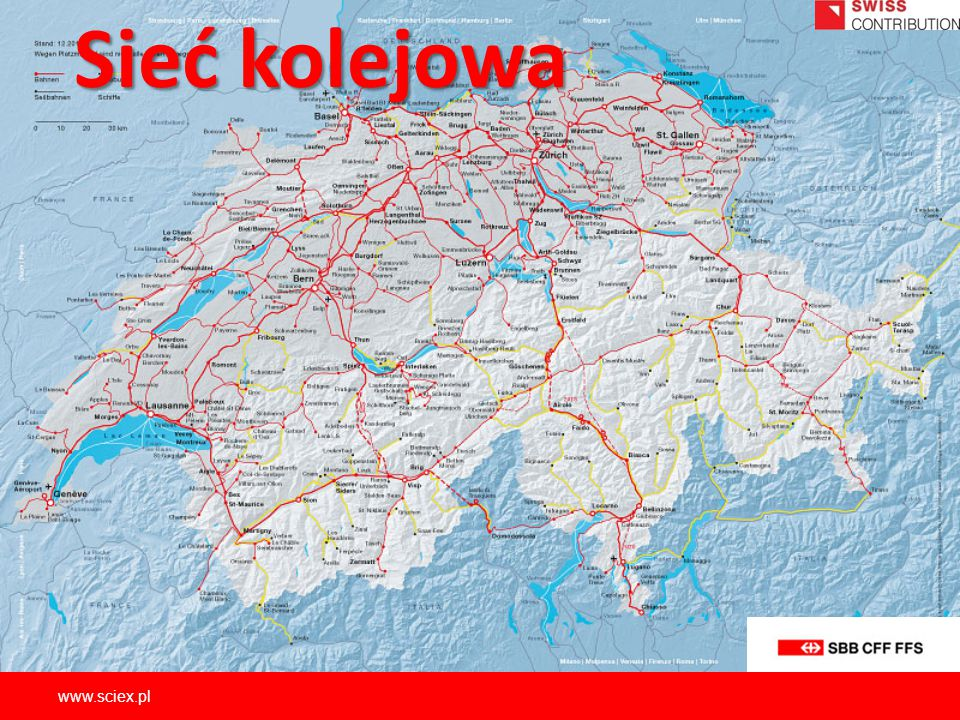 Sieć kolejowa www.sciex.pl