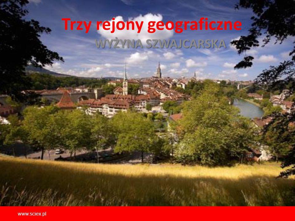 Trzy rejony geograficzne