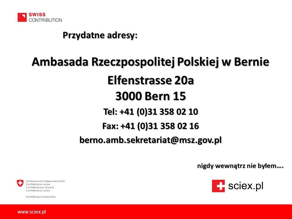 Ambasada Rzeczpospolitej Polskiej w Bernie