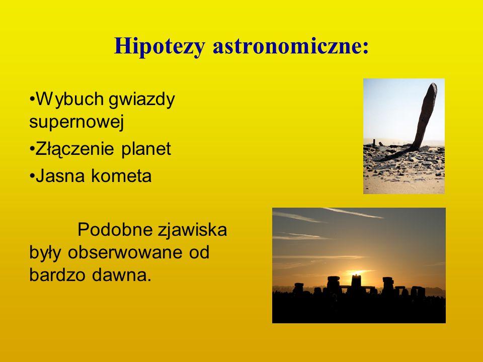 Hipotezy astronomiczne: