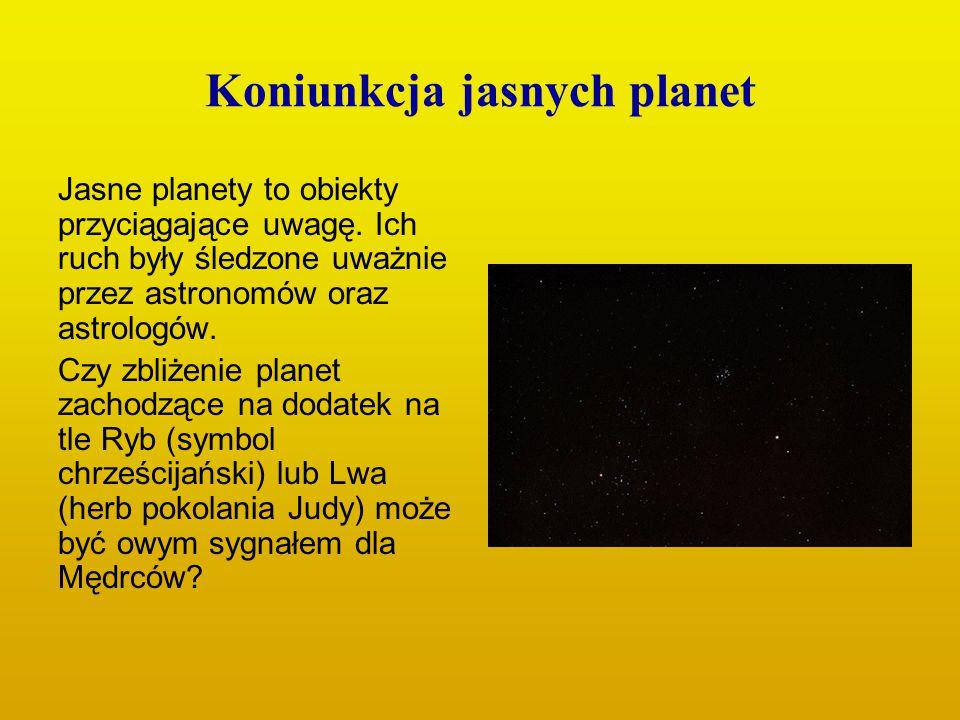 Koniunkcja jasnych planet