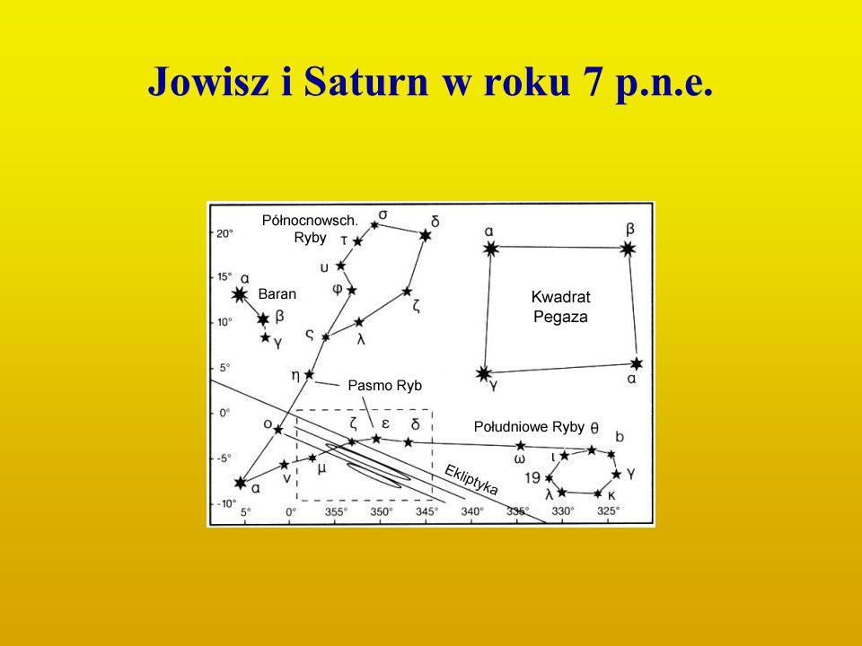 Jowisz i Saturn w roku 7 p.n.e.