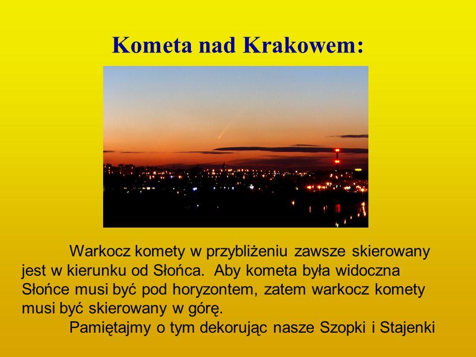 Kometa nad Krakowem:
