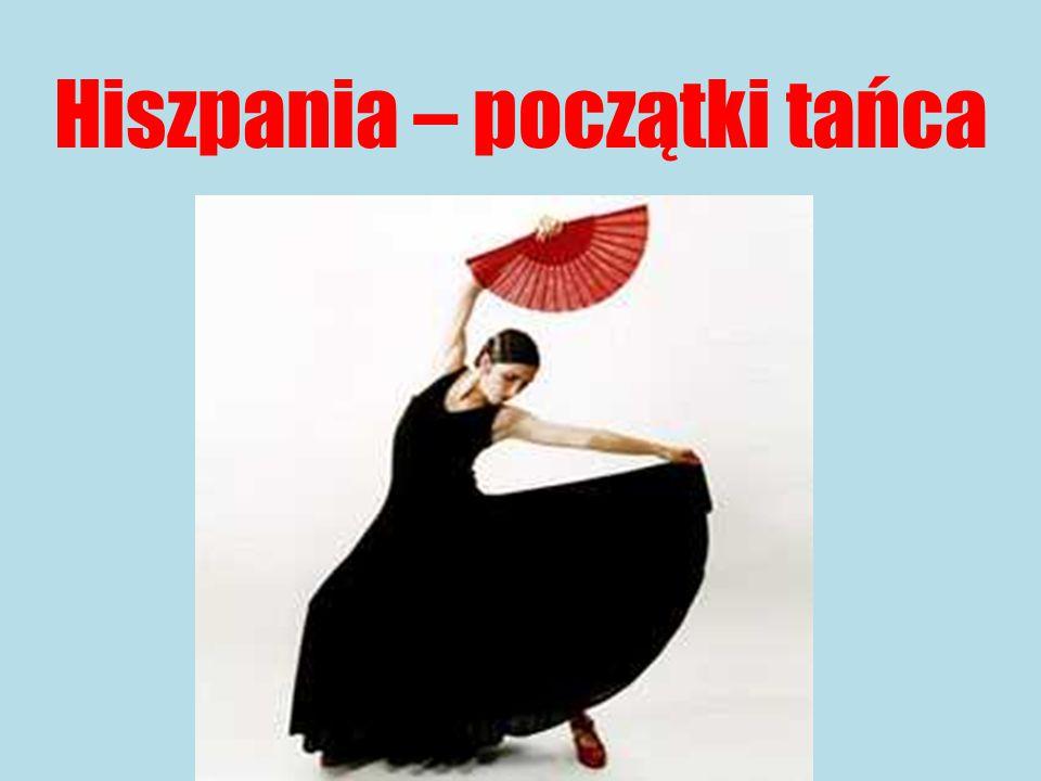 Hiszpania – początki tańca