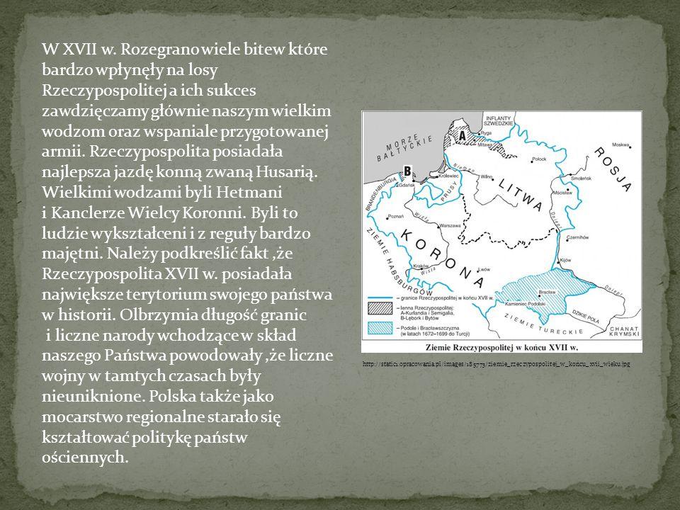 Wielkimi wodzami byli Hetmani