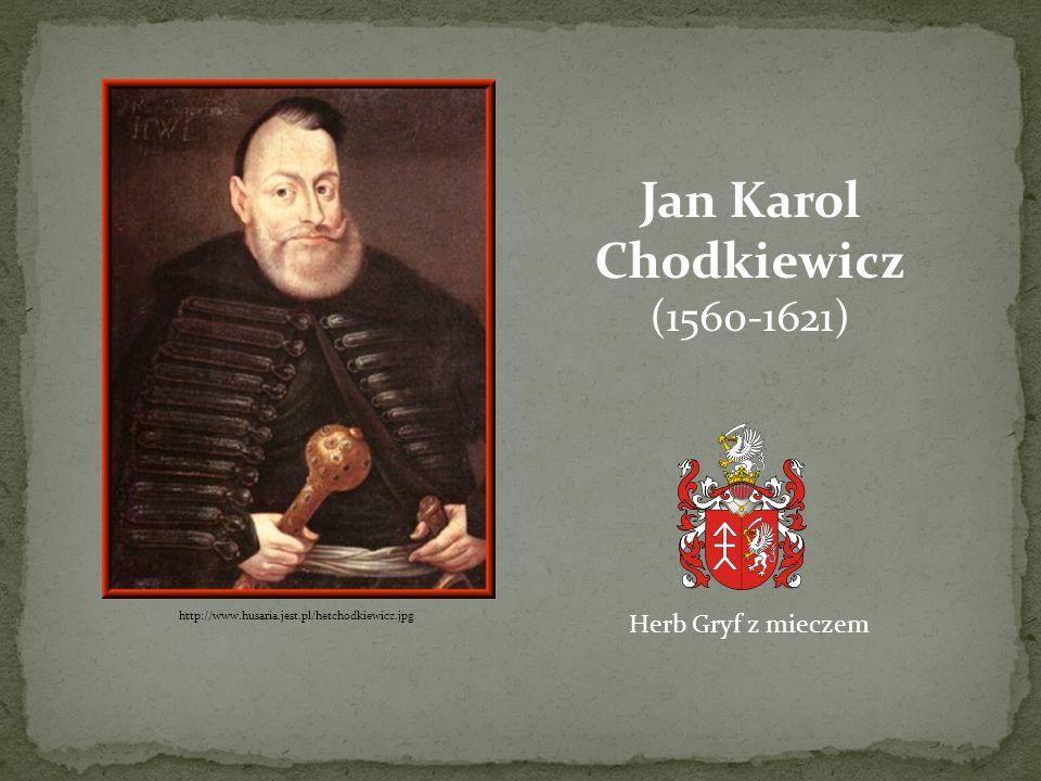 Jan Karol Chodkiewicz (1560-1621) Herb Gryf z mieczem