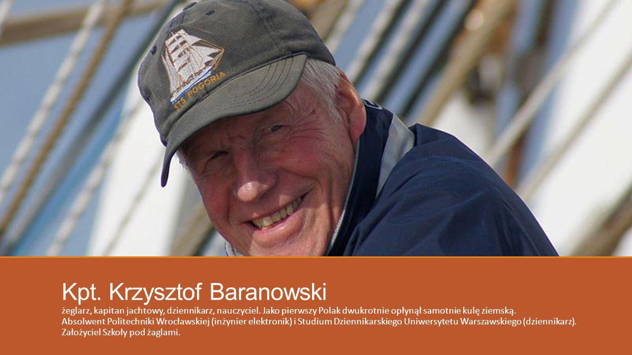 Kpt. Krzysztof Baranowski