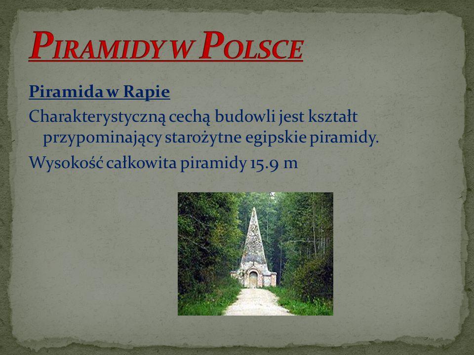 PIRAMIDY W POLSCE