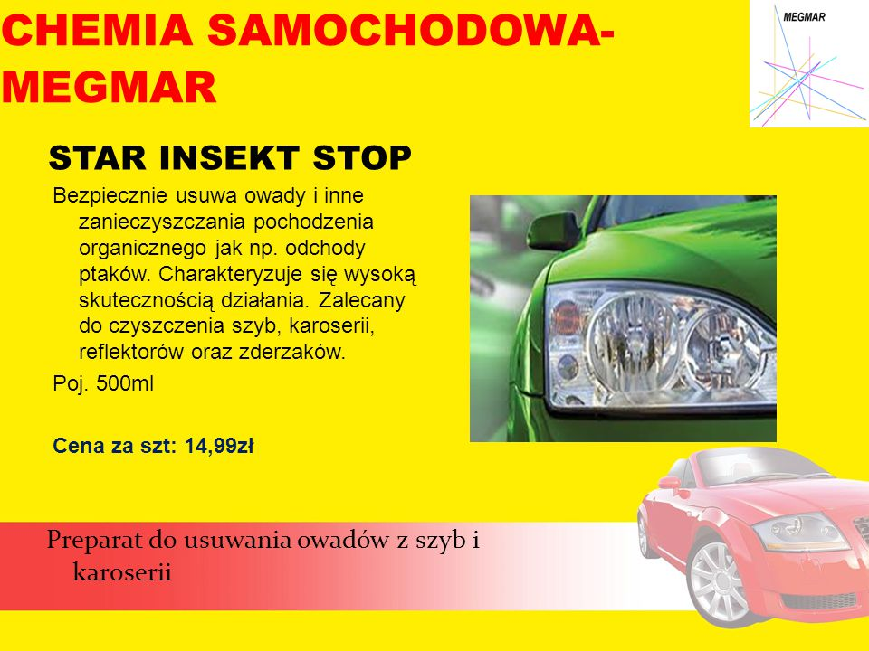 CHEMIA SAMOCHODOWA- MEGMAR