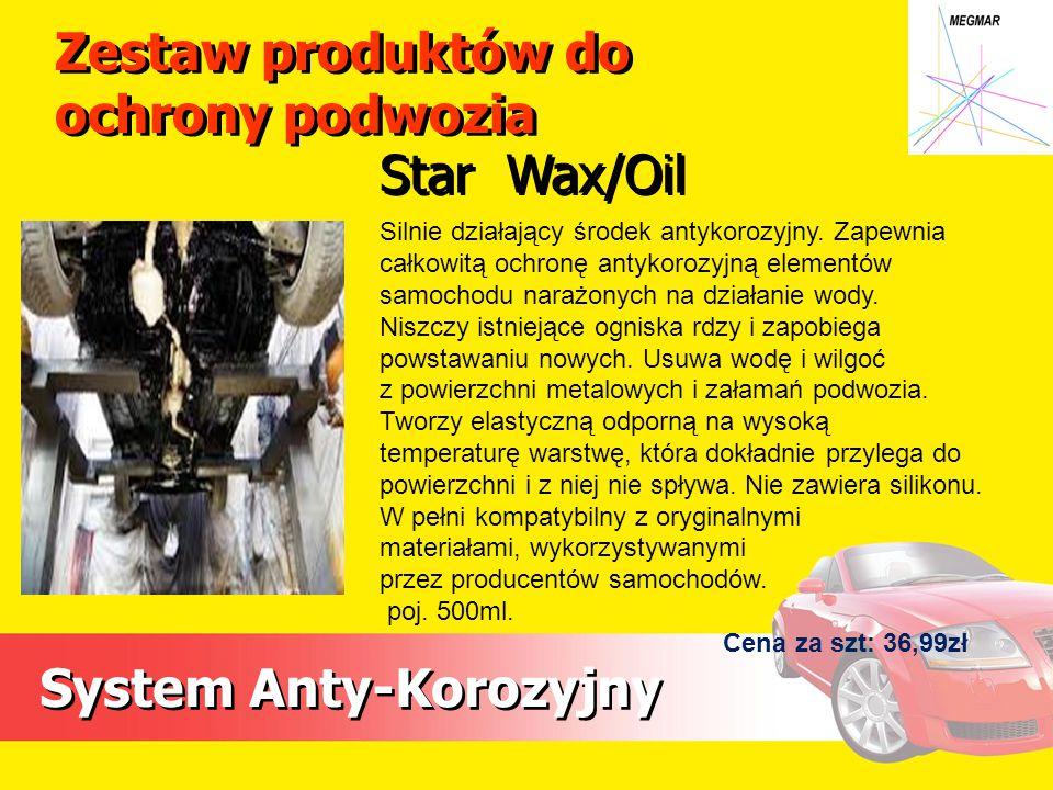 Zestaw produktów do ochrony podwozia
