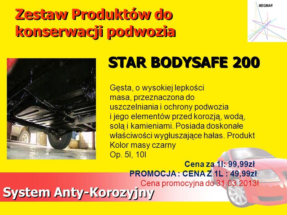 Zestaw Produktów do konserwacji podwozia