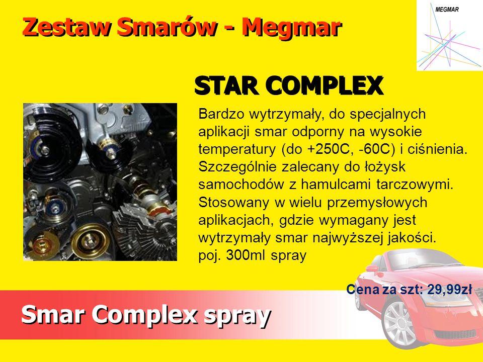 Zestaw Smarów - Megmar STAR COMPLEX Smar Complex spray