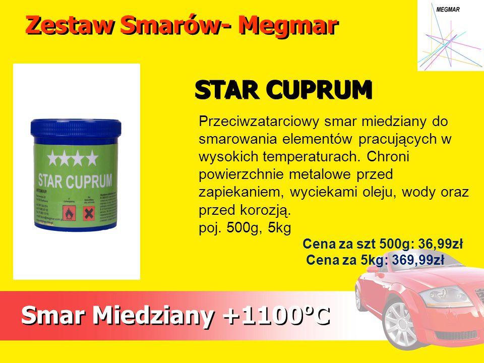 Zestaw Smarów- Megmar STAR CUPRUM Smar Miedziany +1100oC