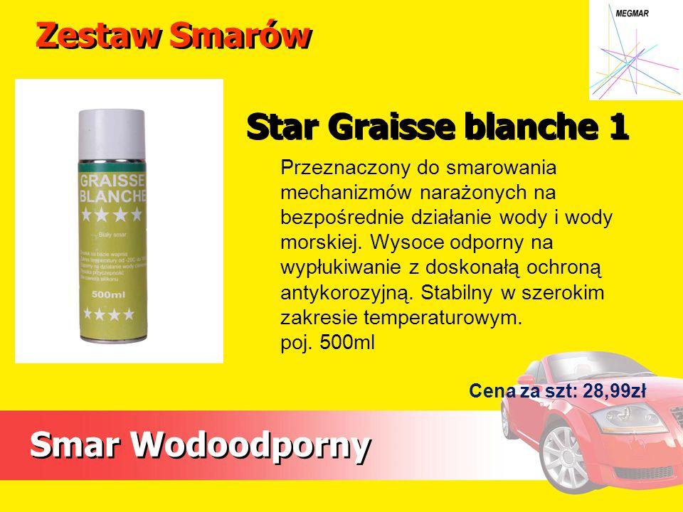 Zestaw Smarów Star Graisse blanche 1 Smar Wodoodporny