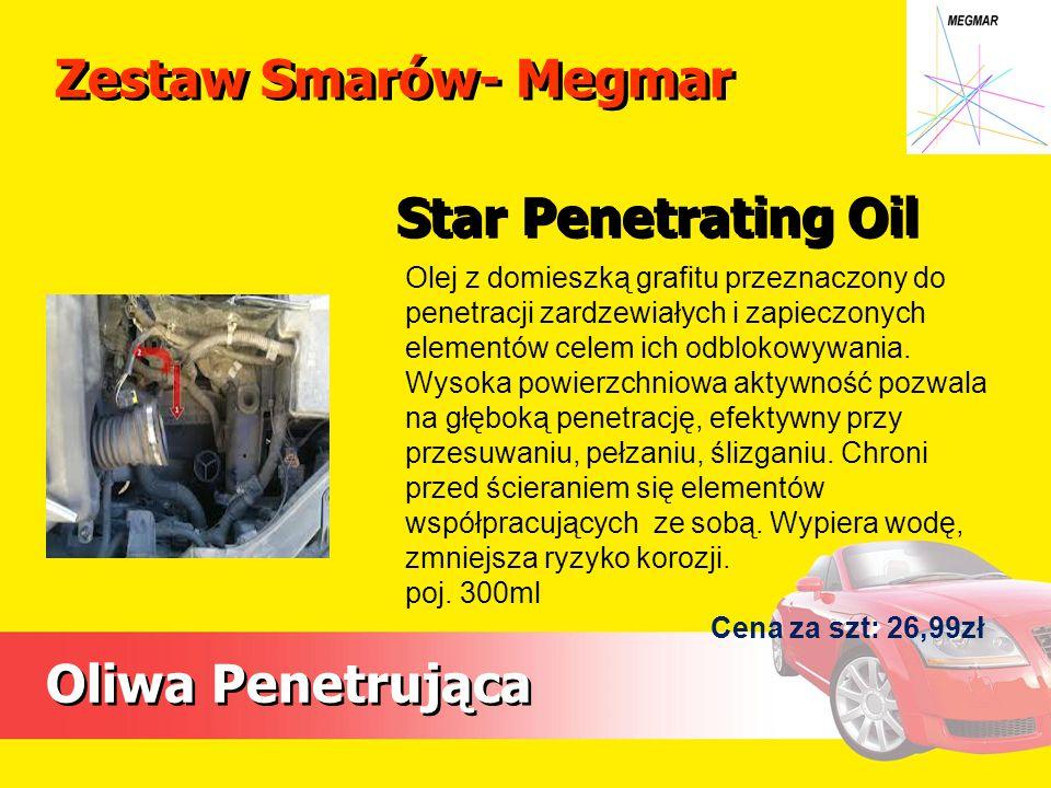 Zestaw Smarów- Megmar Star Penetrating Oil Oliwa Penetrująca