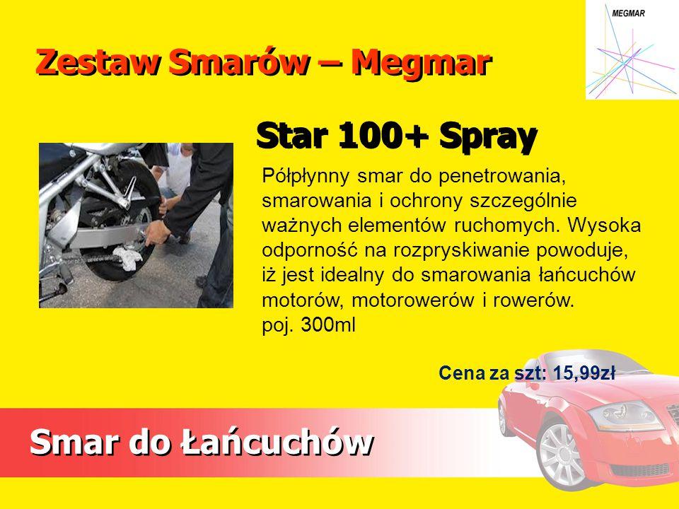 Zestaw Smarów – Megmar Star 100+ Spray Smar do Łańcuchów