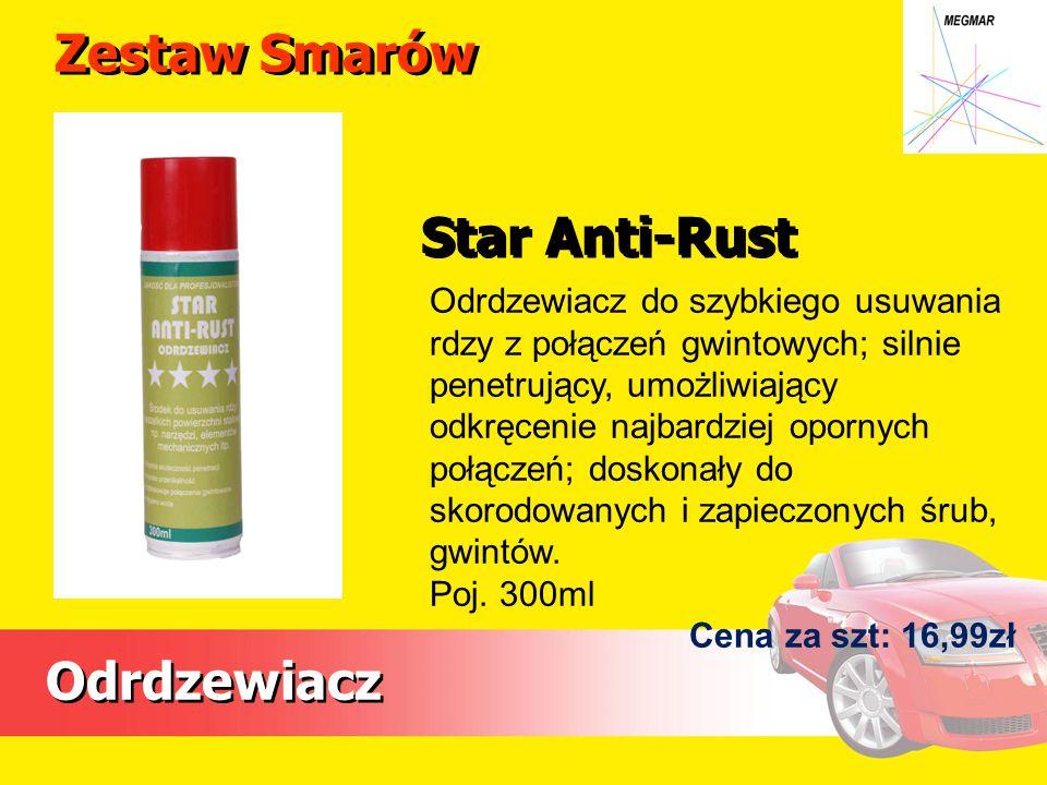 Zestaw Smarów Star Anti-Rust Odrdzewiacz