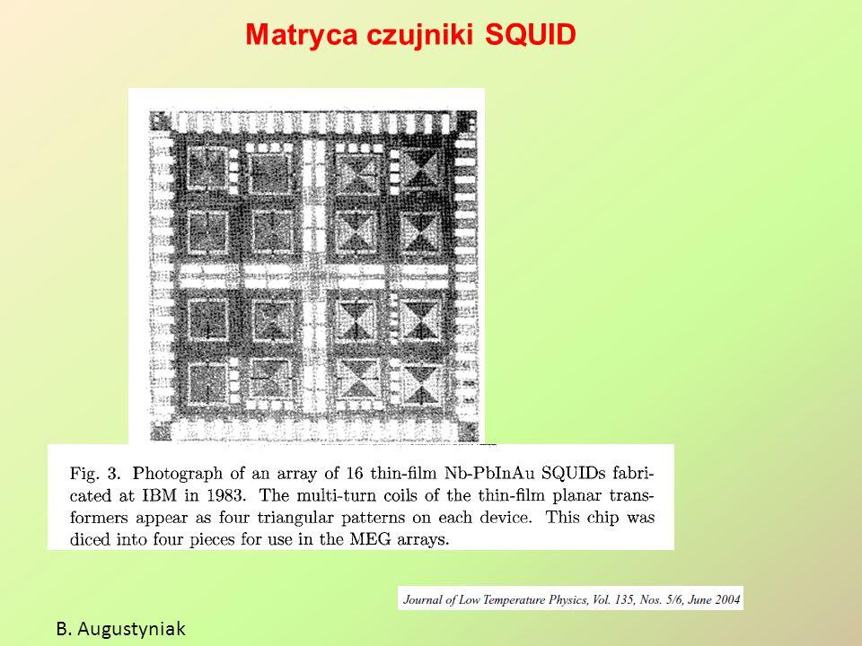 Matryca czujniki SQUID