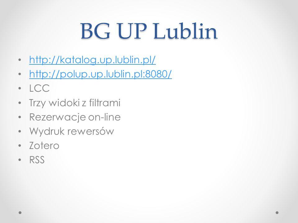 BG UP Lublin http://katalog.up.lublin.pl/