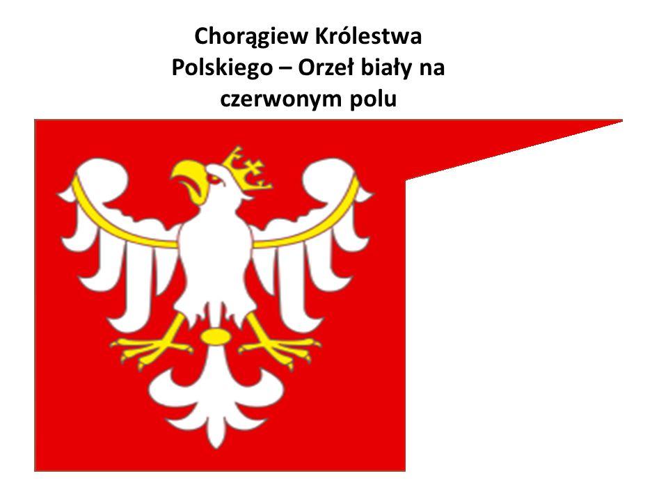 Chorągiew Królestwa Polskiego – Orzeł biały na czerwonym polu