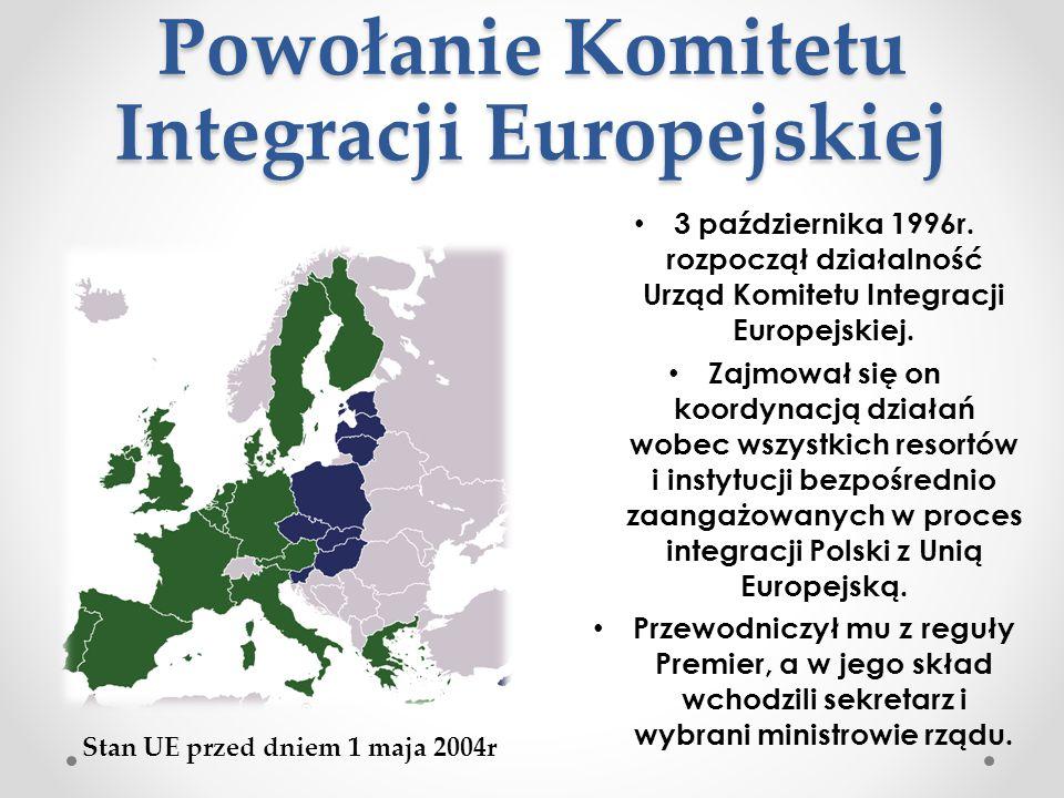 Powołanie Komitetu Integracji Europejskiej