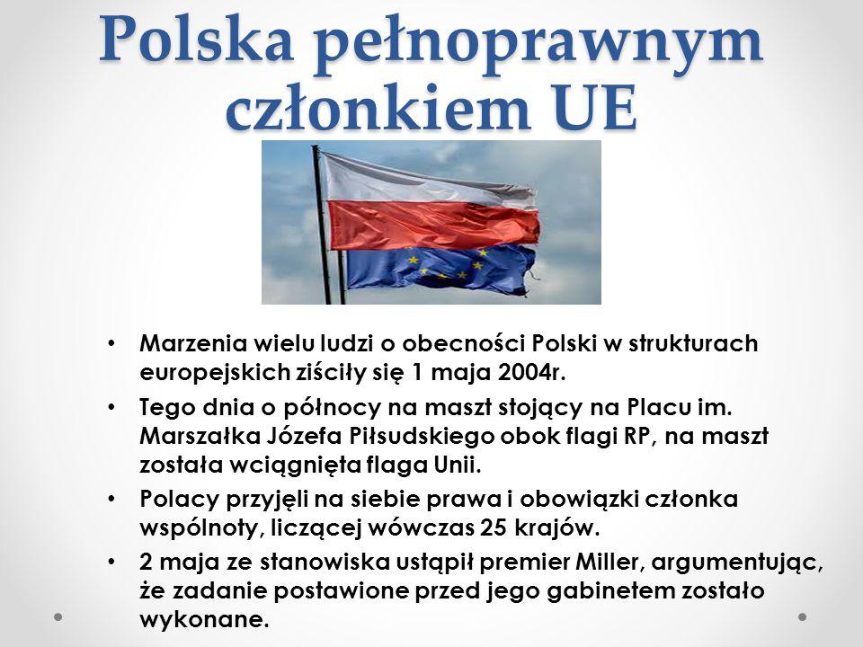 Polska pełnoprawnym członkiem UE