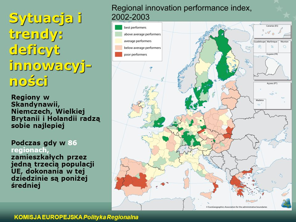 Sytuacja i trendy: deficyt innowacyj-ności