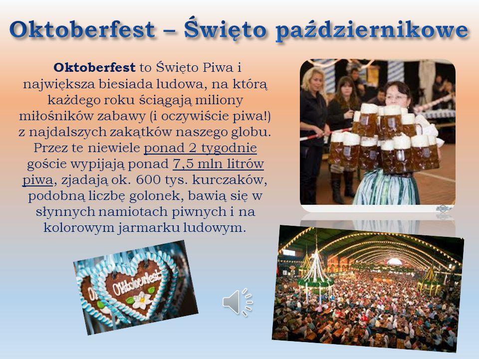 Oktoberfest – Święto październikowe