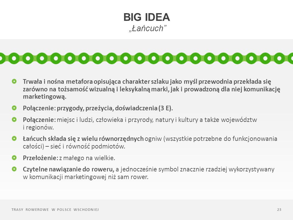 "Big idea ""Łańcuch"