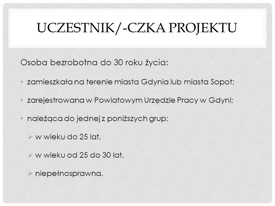 UCZESTNIK/-CZKA PROJEKTU