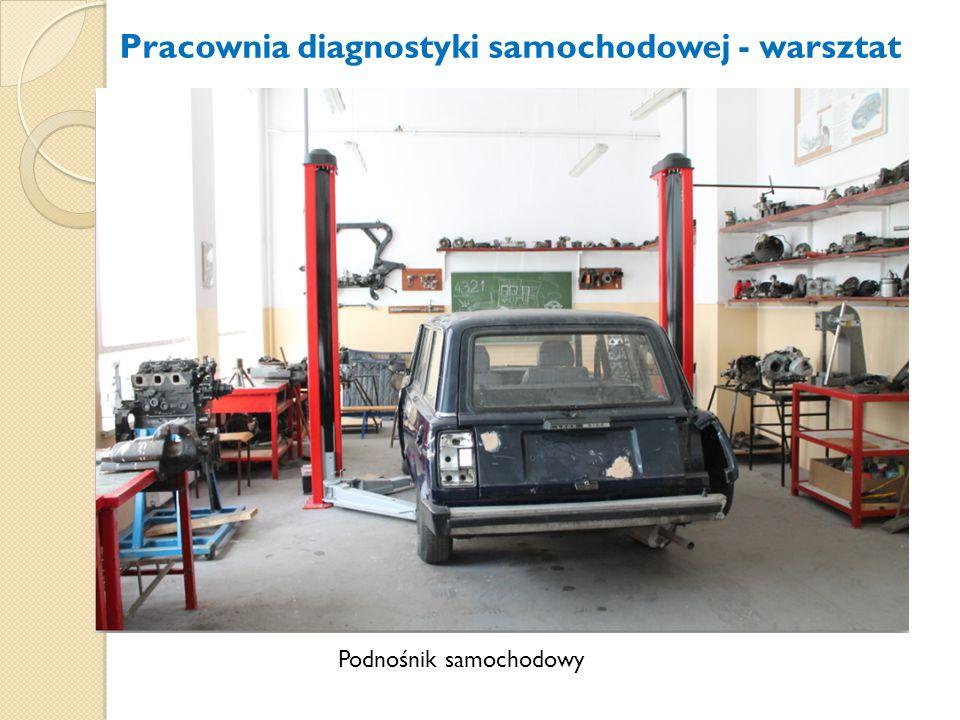 Pracownia diagnostyki samochodowej - warsztat