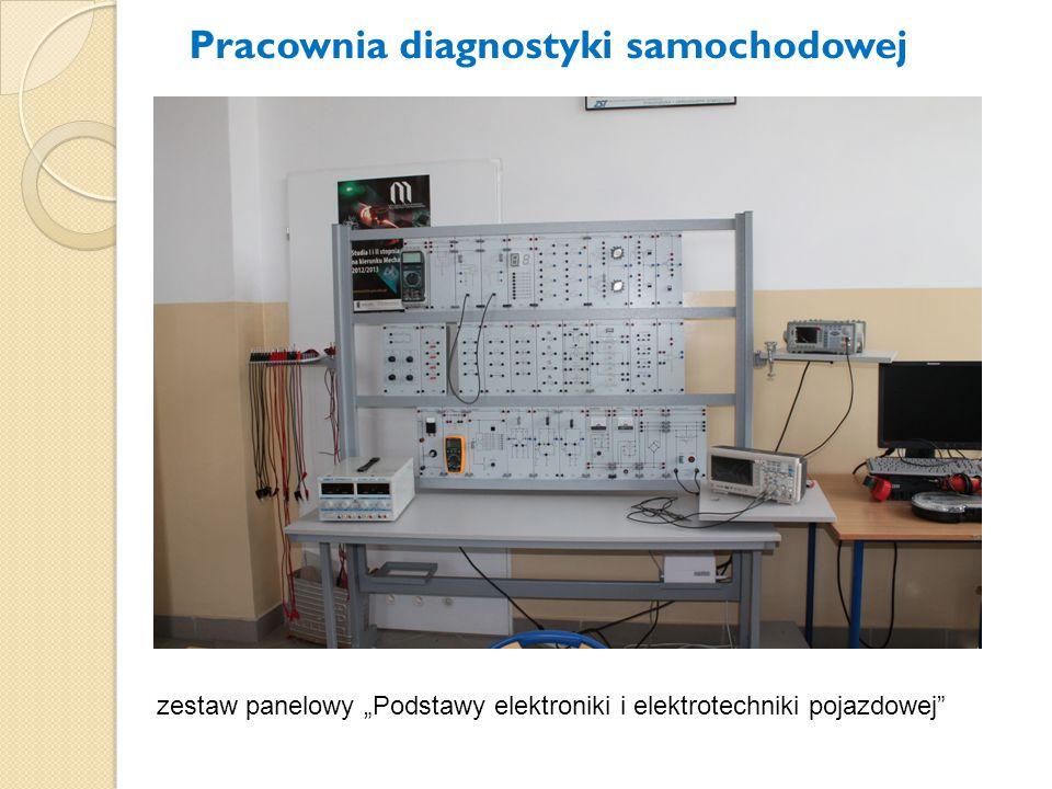 """zestaw panelowy """"Podstawy elektroniki i elektrotechniki pojazdowej"""