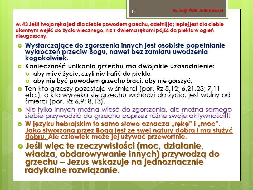 ks. mgr Piotr Jakubowski