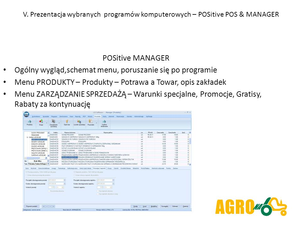 Ogólny wygląd,schemat menu, poruszanie się po programie