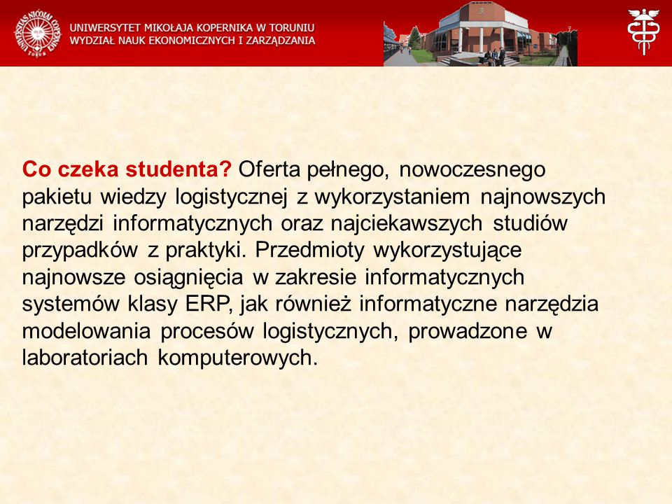 Co czeka studenta.