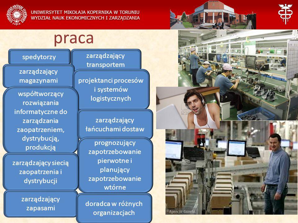 praca spedytorzy zarządzający transportem zarządzający magazynami