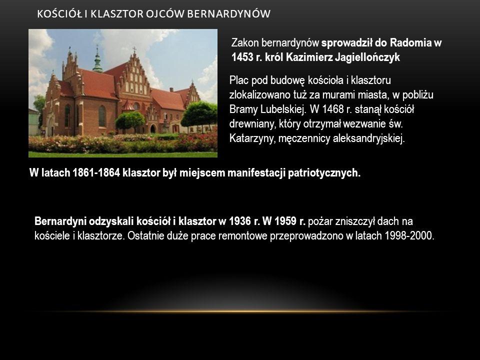 kościół i klasztor ojców bernardynów
