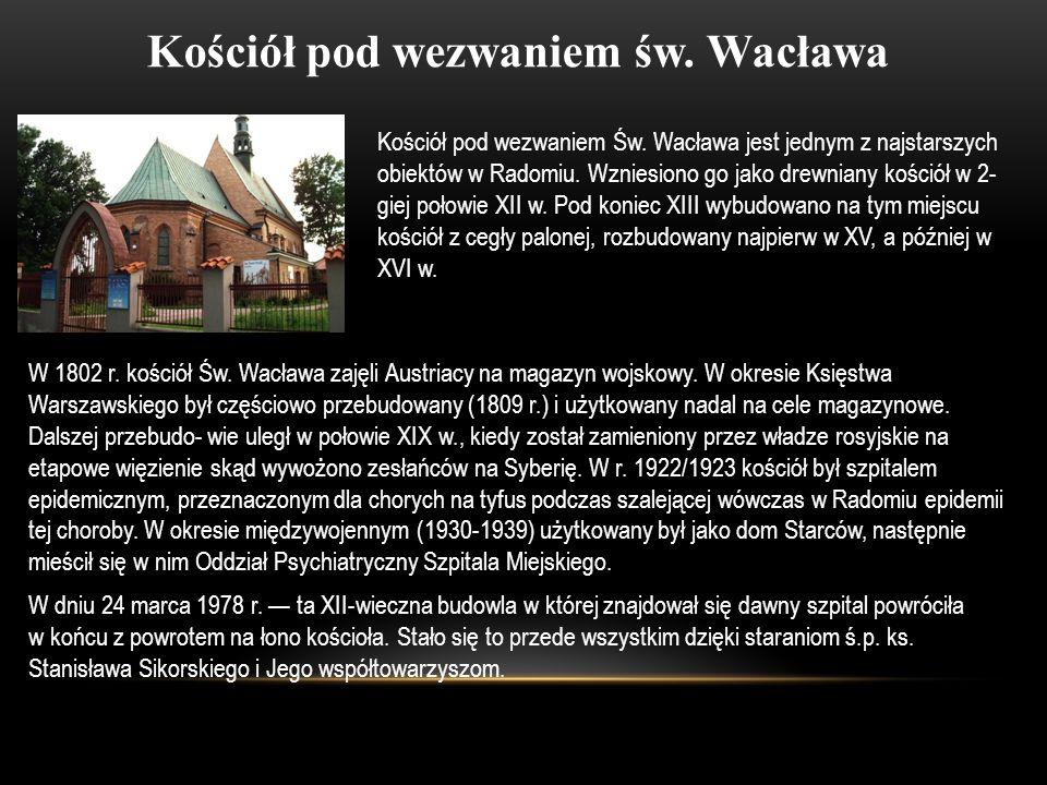 Kościół pod wezwaniem św. Wacława