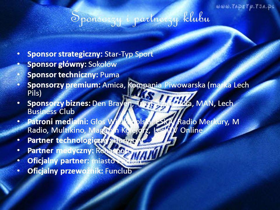 Sponsorzy i partnerzy klubu