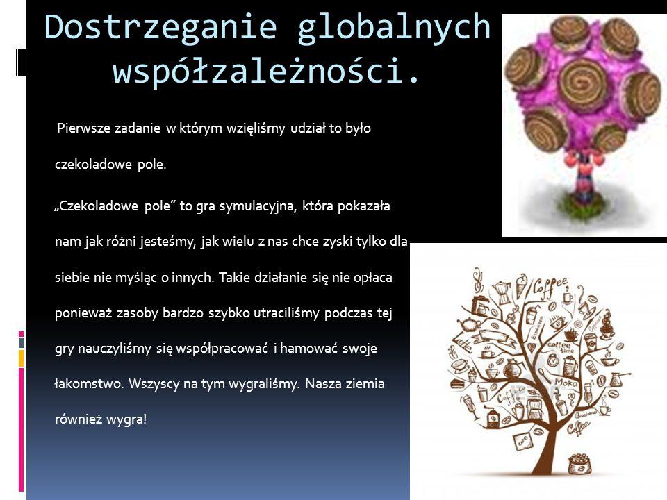 Dostrzeganie globalnych współzależności.