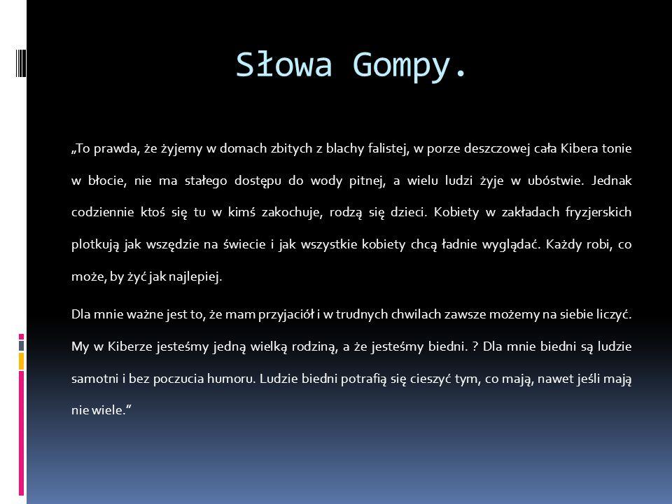 Słowa Gompy.