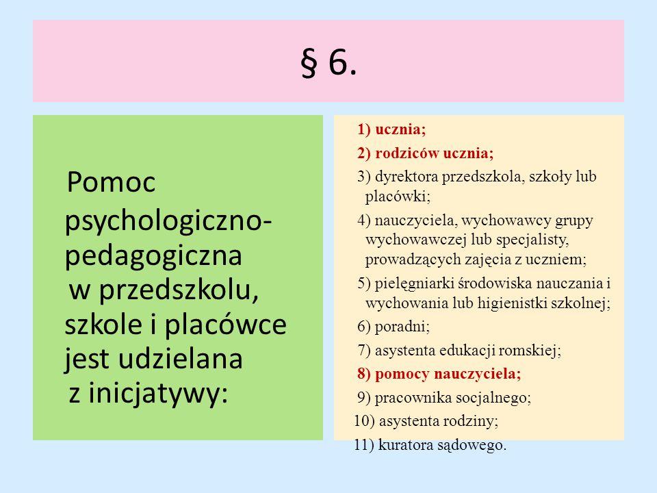 Pomoc psychologiczno-pedagogiczna