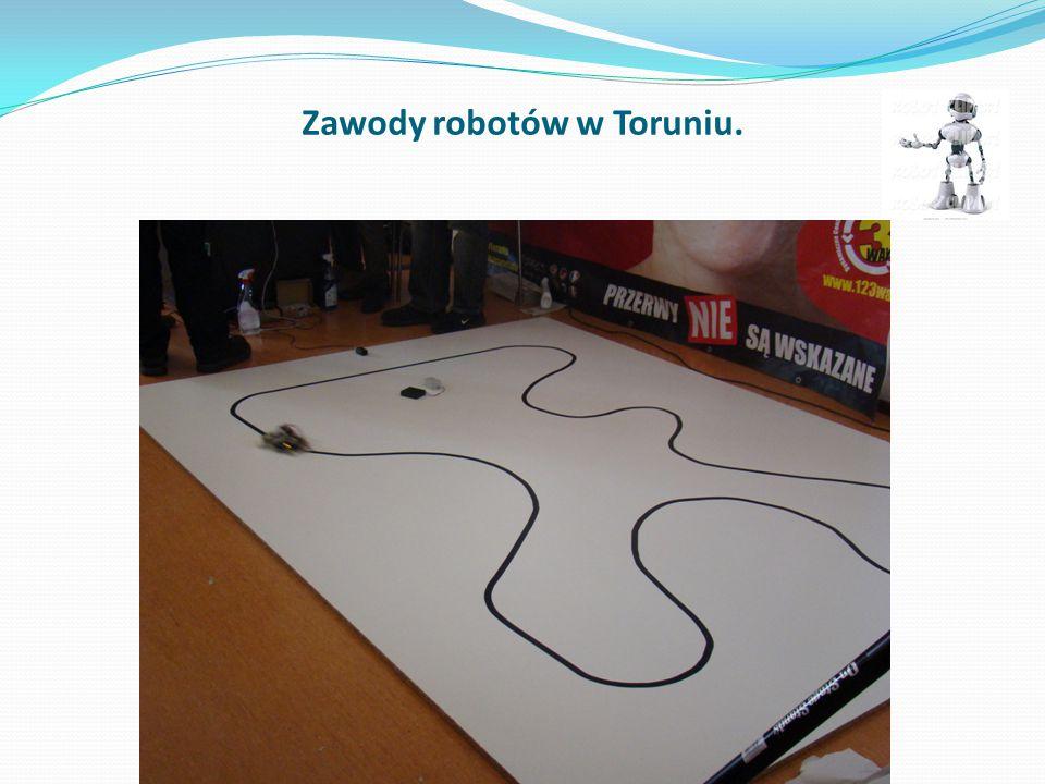 Zawody robotów w Toruniu.